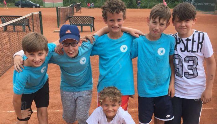 Tenisová klání začínajících tenisových hvězd